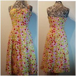 Marc Jacobs Cherry print halter dress
